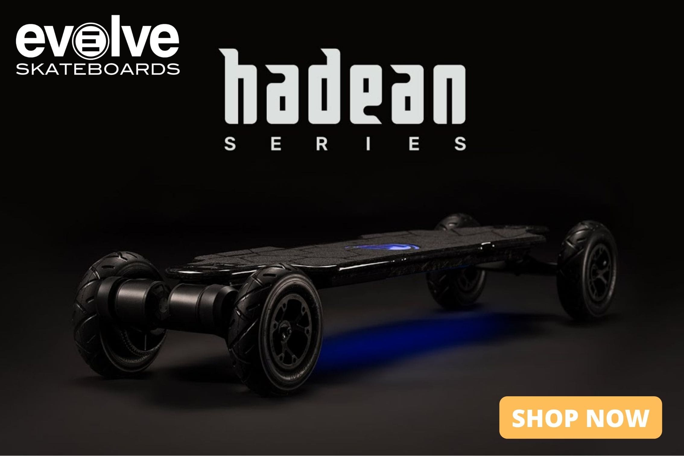 Evolve Electric Skateboard Collection Page