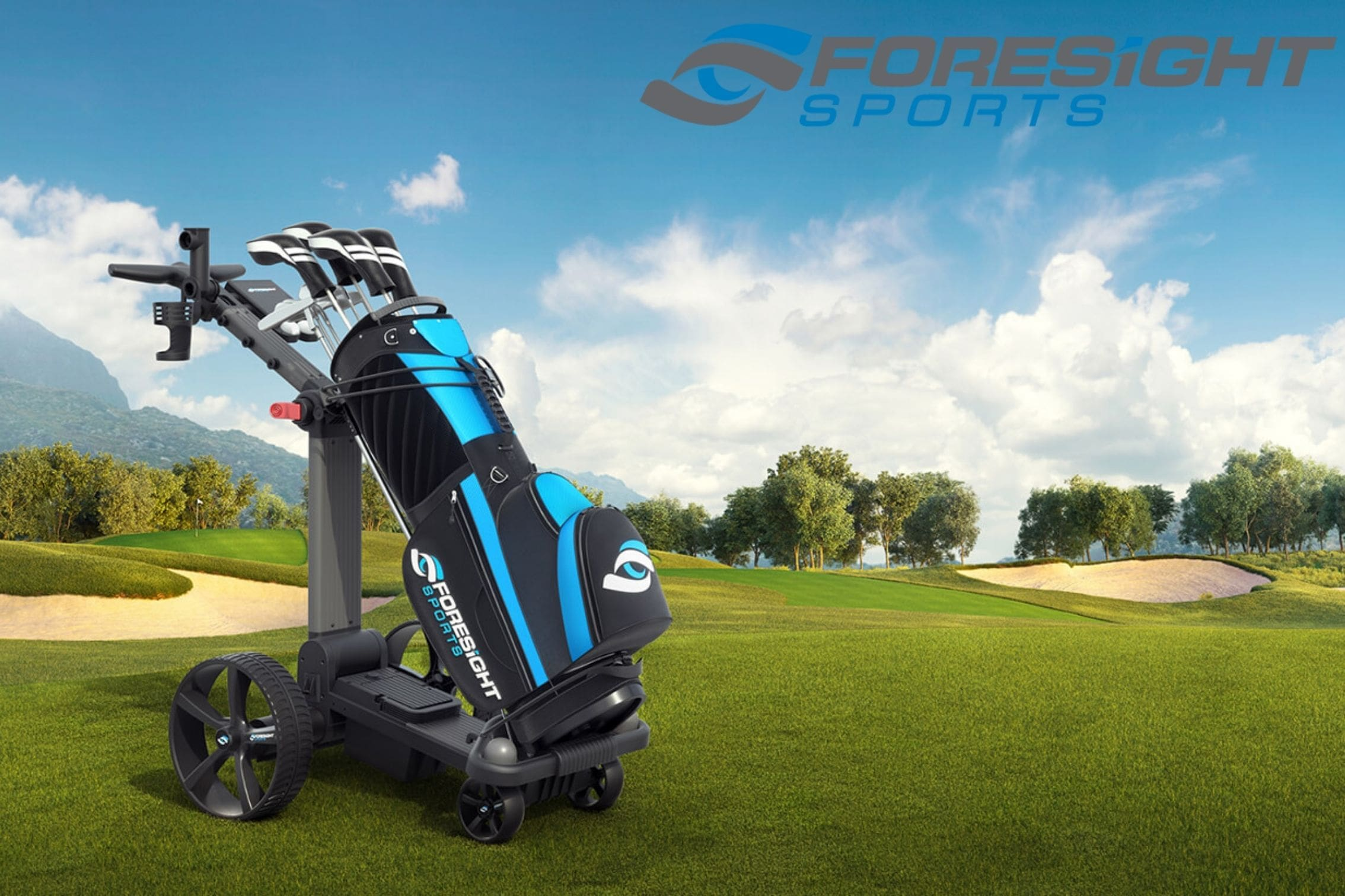 ForeCaddy Electric Golf Caddy Collection Page