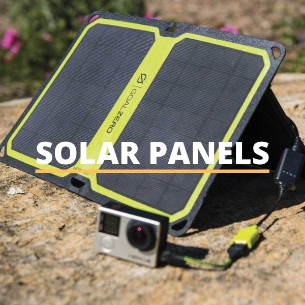Goal Zero Solar Panels Collection Page
