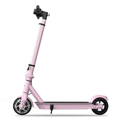 Hiboy S2 Lite Electric Scooter pink side view