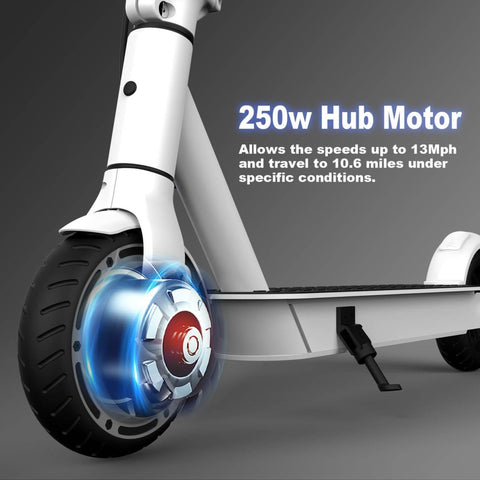 Image of Hiboy S2 Lite Electric Scooter front wheel
