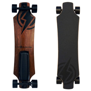 Atom H6 Electric Longboard front and back board deck view