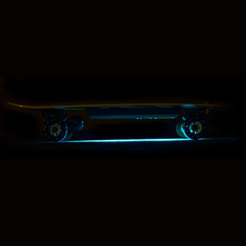 Image of Atom B10 Electric Skateboard with lights side view