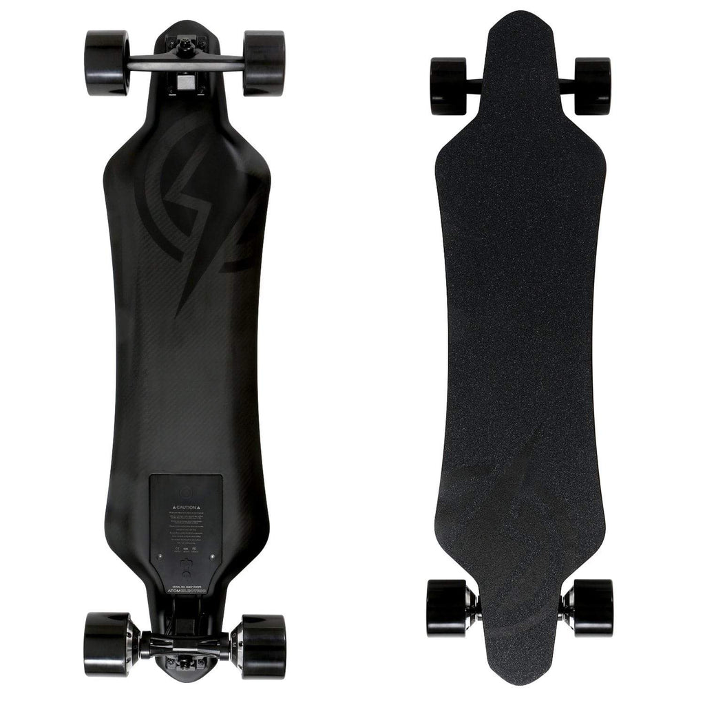 Atom H16D Electric Longboard front and back board deck