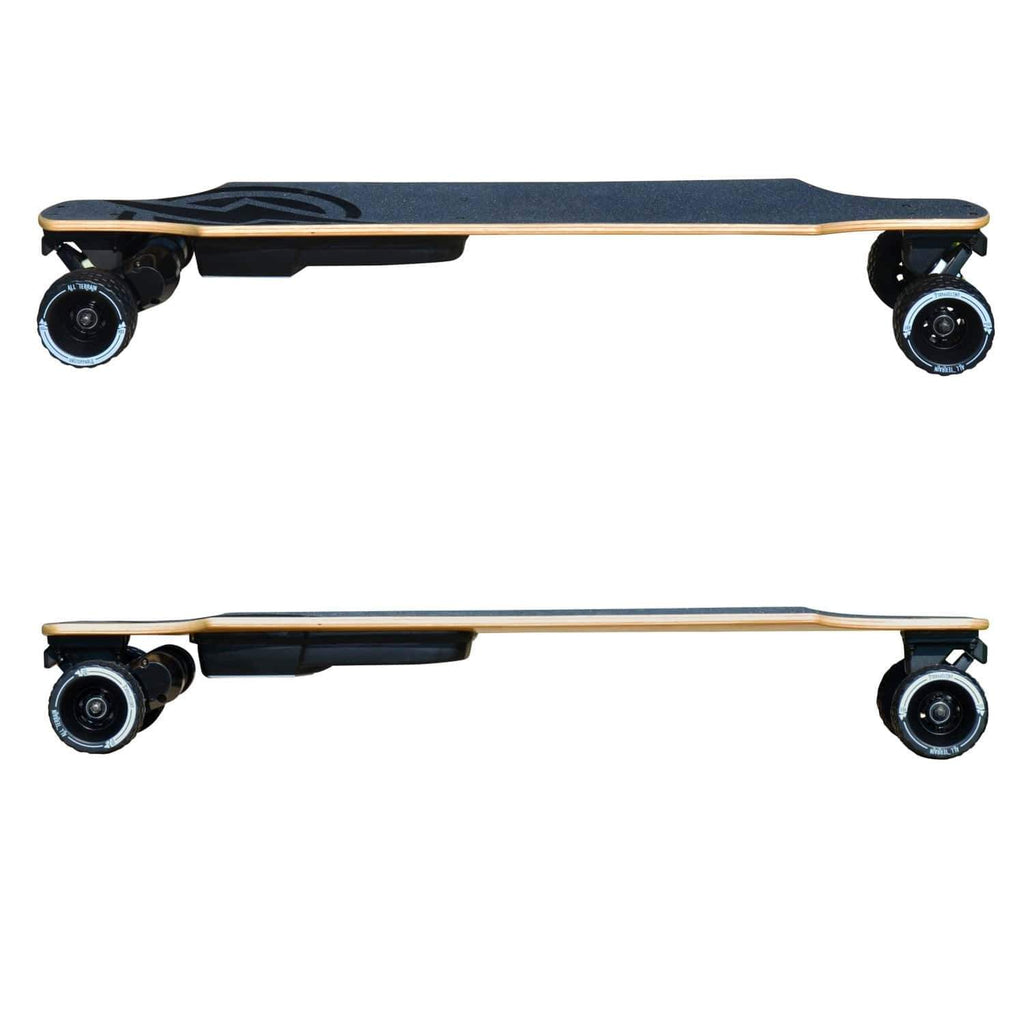 Atom B18-DX Electric Longboard side view left and right