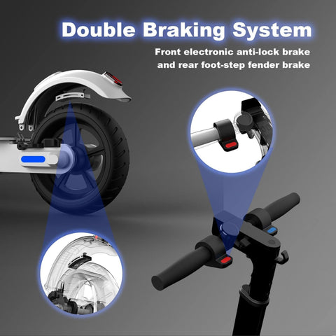 Hiboy S2 Lite Electric Scooter top braking system
