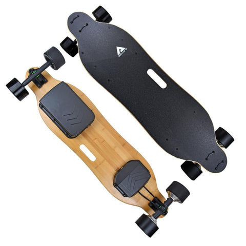AEBoard AE3 Electric Skateboard front and rear