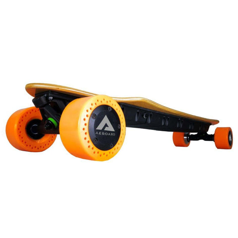 Image of AEBoard AX Plus Electric Skateboard angled
