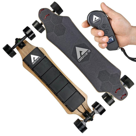 Image of AEBoard AX Plus Electric Skateboard with remote