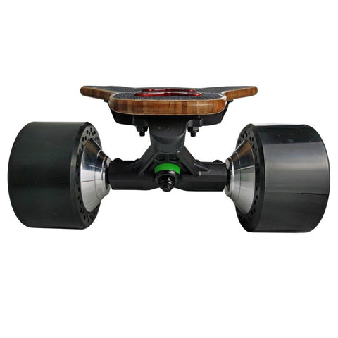 Image of AEBoard AX Plus Electric Skateboard front trucks