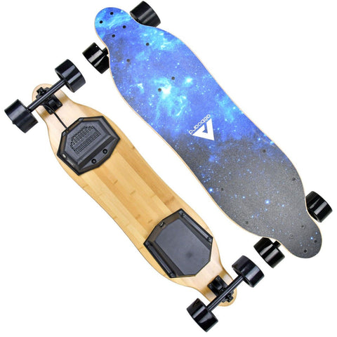 Image of AEBoard G5 Electric Skateboard front and back board view