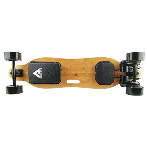 Image of AEBoard Hornet Electric Skateboard bottom board deck view
