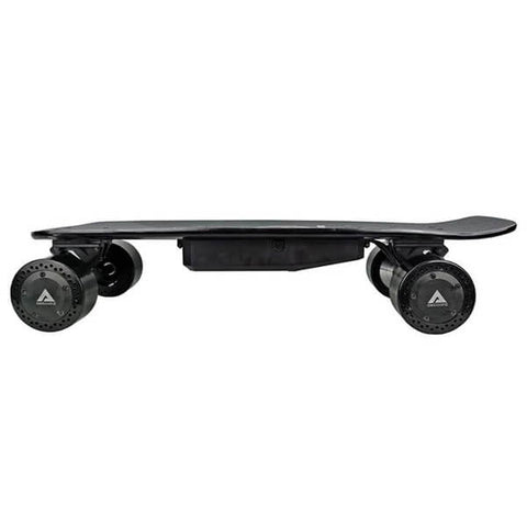 AEBoard AX Mini Electric Penny Board Side View