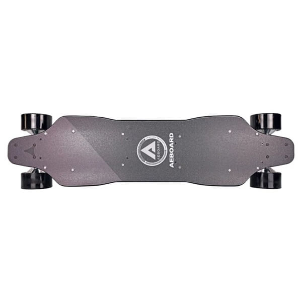 AEBoard All Wheel Drive Electric Longboard Top View