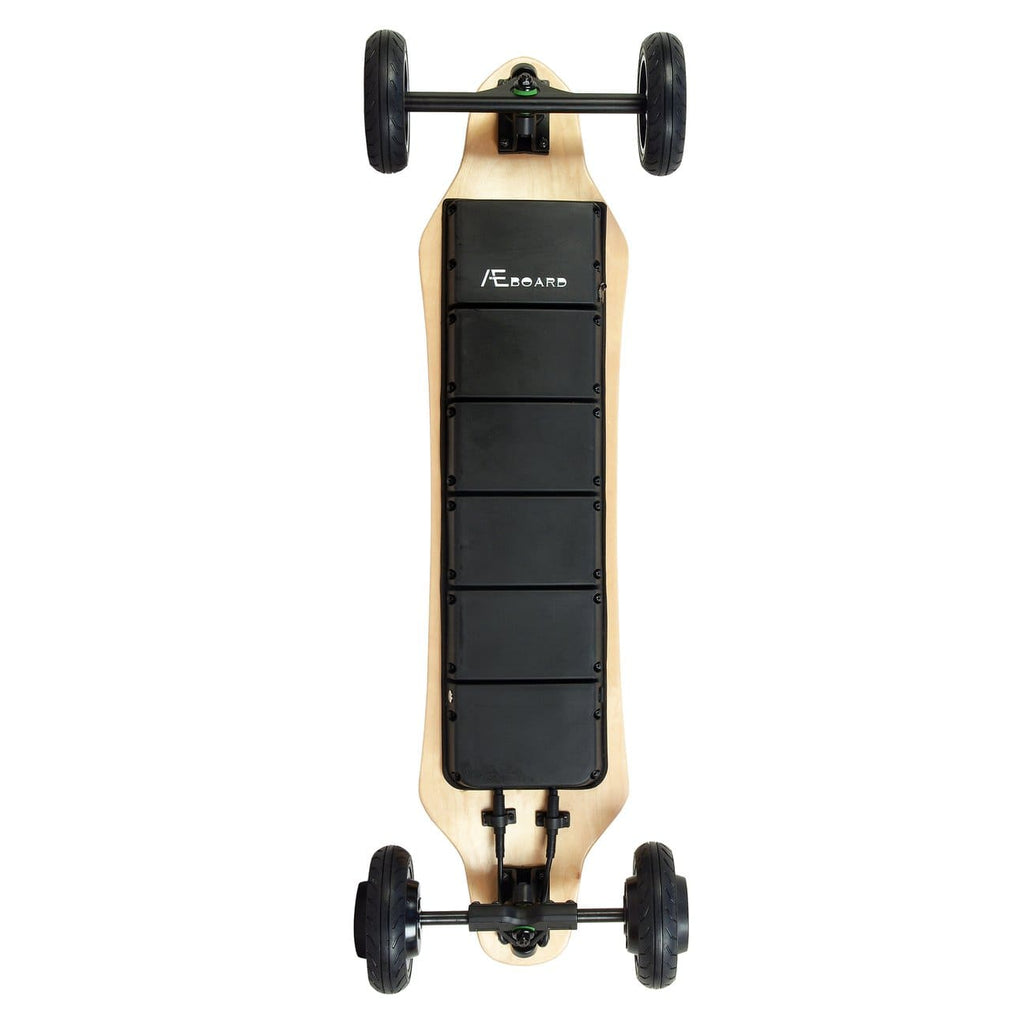 AEboard AE2 All Terrain Electric Skateboard Upside Down