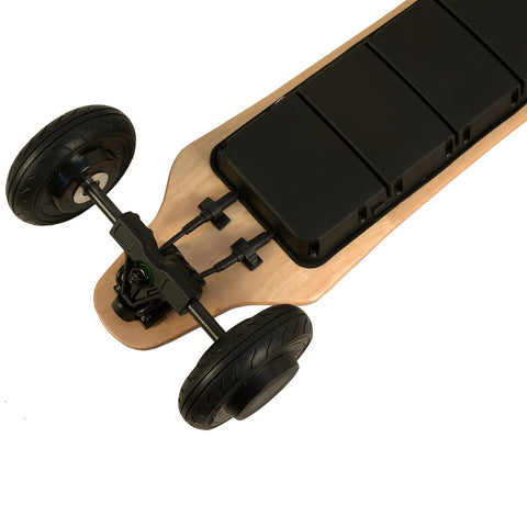 Image of AEboard AE2 All Terrain Electric Skateboard Engine and Tire view