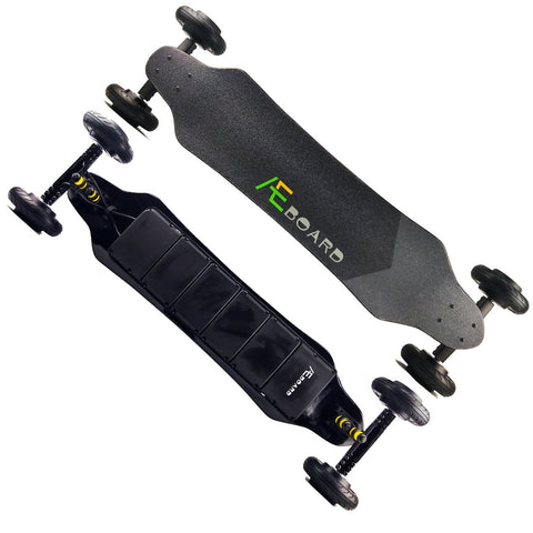 Image of AEboard GT Electric Longboard Front and Back View