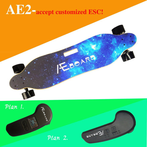 Image of AEboard AE2 Electric Longboard  Remote