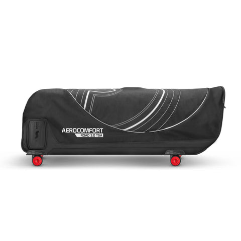 Image of AeroComfort Road 3.0 Bike Travel Case folded