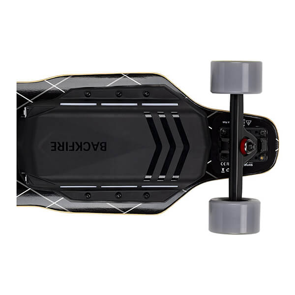 Backfire G3 Electric Skateboard Back View Horizontal