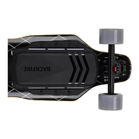 Image of Backfire G3 Electric Skateboard Back View Horizontal