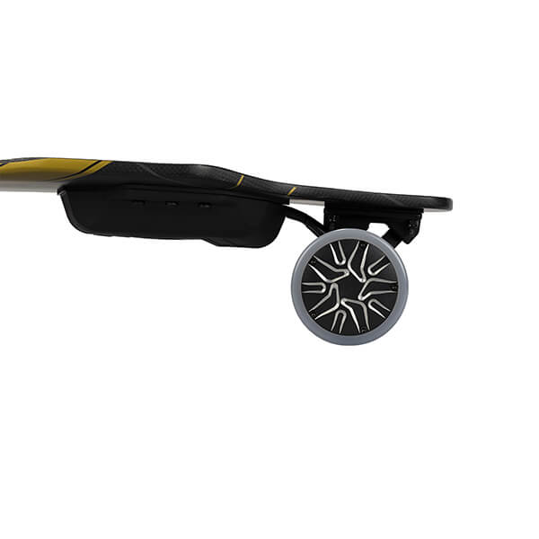 Backfire G3 Electric Skateboard Side View Wheelsv