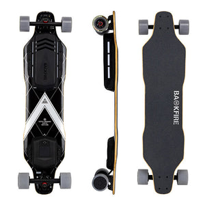Backfire G3 Electric Skateboard Top Side Back View
