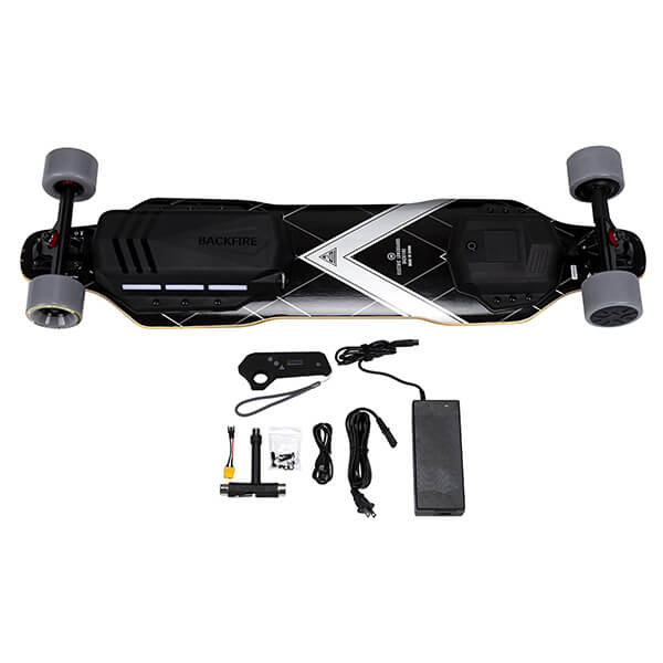 Backfire G3 Electric Skateboard With Accessories