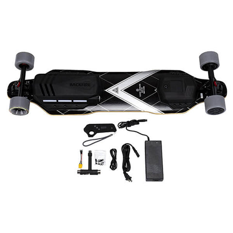 Image of Backfire G3 Electric Skateboard With Accessories