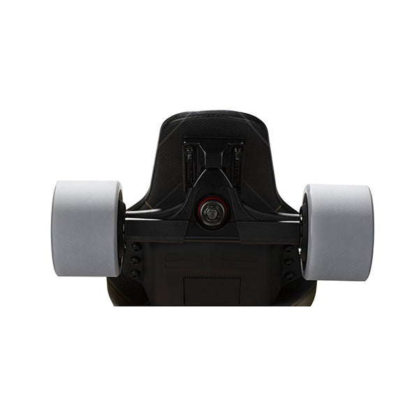 Backfire G3 Plus Carbon Fiber Electric Longboard Back View Wheels