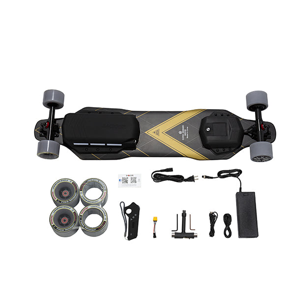 Backfire G3 Plus Carbon Fiber Electric Longboard With Accessories