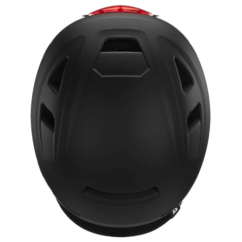 Image of Bern Hudson Helmet black top