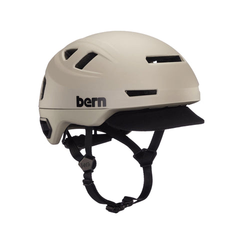 Image of Bern Hudson Helmet brown front