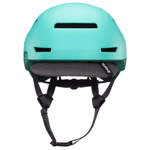 Image of Bern Hudson Helmet blue rear
