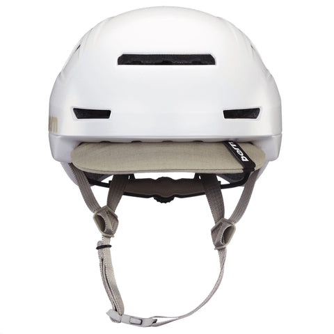 Image of Bern Hudson Helmet white rear