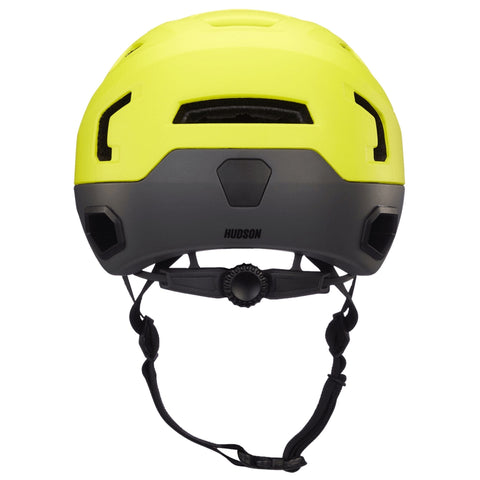 Bern Hudson Helmet yellow rear