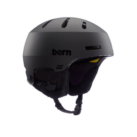 Image of Bern Winter Macon 2.0 Helmet black side angle view