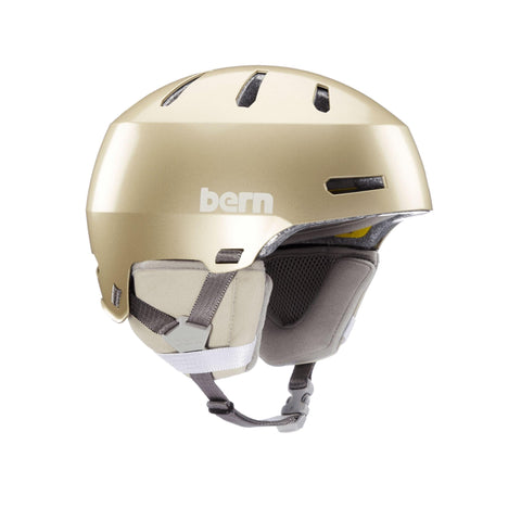 Image of Bern Winter Macon 2.0 Helmet gold front angle