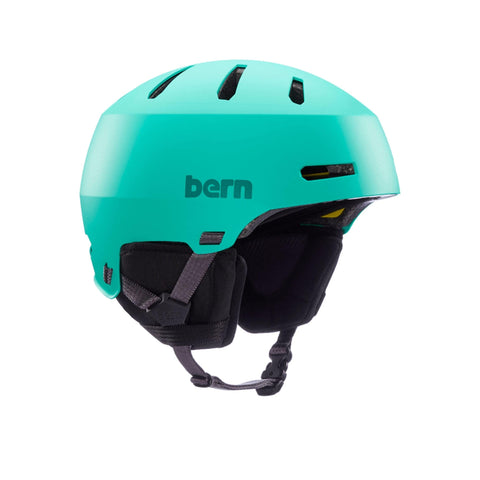 Image of Bern Winter Macon 2.0 Helmet blue front angle