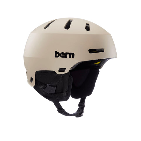 Image of Bern Winter Macon 2.0 Helmet sand front angle