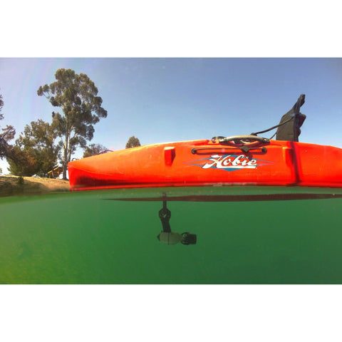 Bixpy J-1 Outboard Kit kayak underwater view