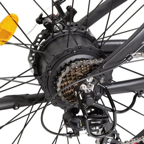 Image of ECOTRIC Fat Tire Electric Bike chains close up