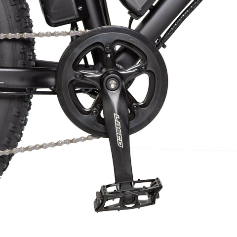 Image of ECOTRIC Fat Tire Electric Bike pedals close up
