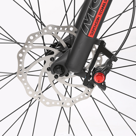 Image of ECOTRIC Hammer Fat Tire Electric Bike front spokes close up