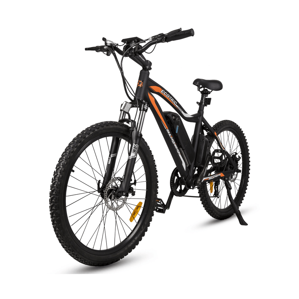 ECOTRIC Leopard Electric Mountain Bike black side view