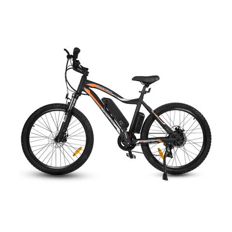 Image of ECOTRIC Leopard Electric Mountain Bike black side view