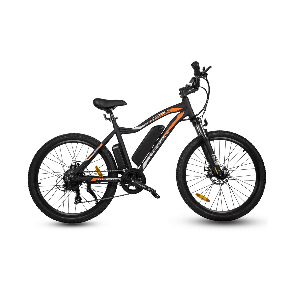 ECOTRIC Leopard Electric Mountain Bike right side view