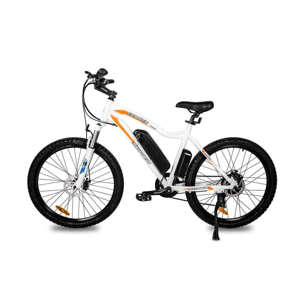 ECOTRIC Leopard Electric Mountain Bike left side view