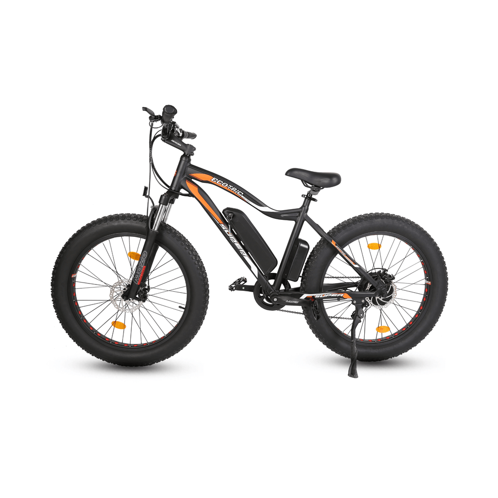 ECOTRIC Rocket Fat Tire Electric Bike black side view