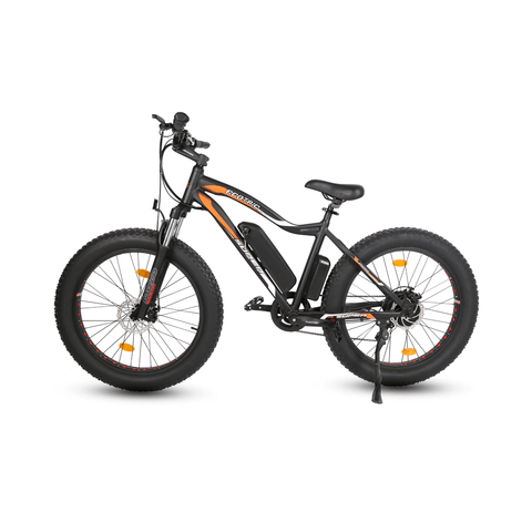 Image of ECOTRIC Rocket Fat Tire Electric Bike black side view